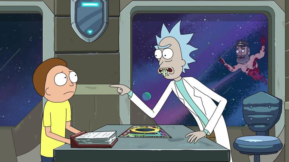Ricky And Morty's Season 4