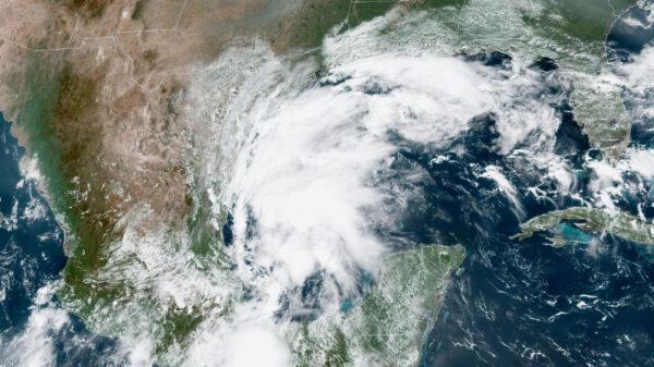 Tropical Storm Nicolas