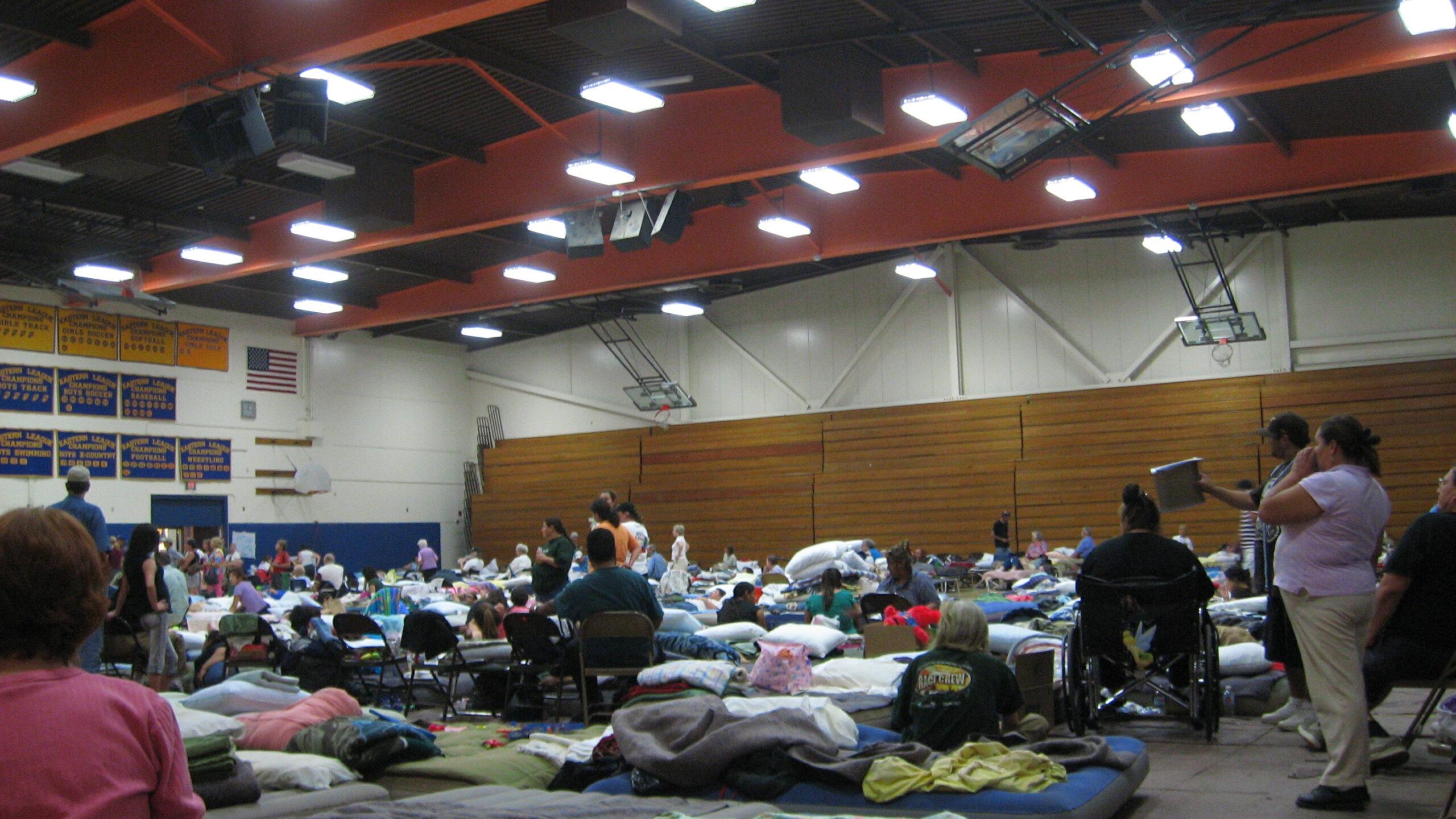 Evacuation Center
